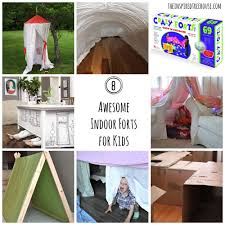 Easy Forts To Build Activities For Kids 8 Awesome Indoor Fort Ideas The Inspired