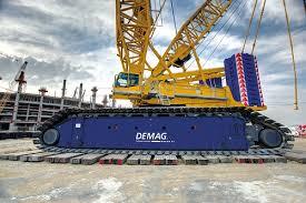 Demag 600 Ton Crane Load Chart Cc 6800 1 Crawler Crane Demag Mobile Cranes
