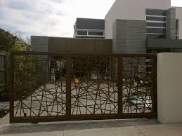 metal fence designs.  Fence Awesome Wood And Metal Fence Designs  On