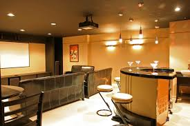 Perfect Cool Basement Colors Bar Intended Impressive Ideas