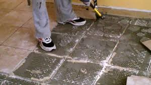 How To Remove Kitchen Tiles Floor Removing Ceramic Floor Tile Theflowerlab Interior Design