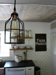 featured customer industrial pendants for farmhouse kitchen makeover