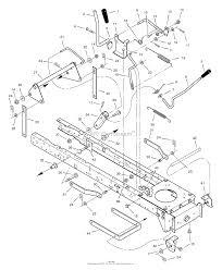 405012x108a lawn tractor 2005 mower housing suspension ⎙ print diagram