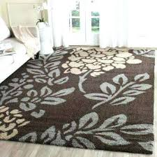 dark brown area rug chocolate area rug dark brown gray 8 ft x ft area