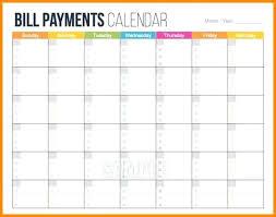 Bill Schedule Spreadsheet Bill Monthly Bill Planner Spreadsheet