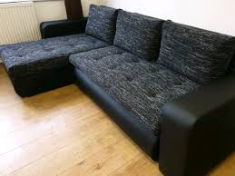 corner sofa bed was 750 now 350