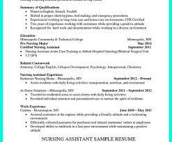 Cna Resume Template Resume Template Google Docs Cna Resume Template Free Cna Resume