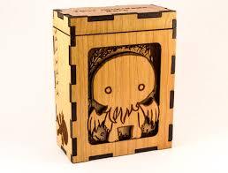Cthulhu Chibi H P Lovecraft Magic The Gathering Deck Box