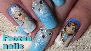 Frozen Gelové Nehty Video Jak Se To Dělácz