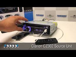 clarion cz302 source unit youtube Clarion Cz201 Wiring Diagram Clarion Cz201 Wiring Diagram #83 Clarion NX409 Wiring Harness Diagram
