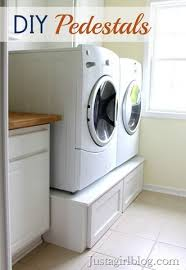 diy washer dryer pedestal with drawers. Perfect Pedestal Build Your Own Washer And Dryer Pedestals With Drawers Throughout Diy Washer Dryer Pedestal With Drawers E