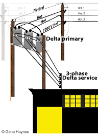 how to wire 3 phase see delta delta service