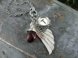 Typewriter Key Jewelry Angel Wing or Memories by thekeyofa, $39.50 ...