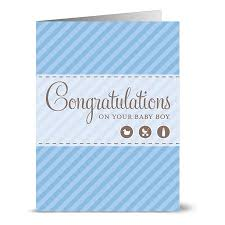 Congratulations For A Baby Boy 24 Note Cards Congratulations On Your Baby Boy Blank Cards Kraft Envelopes Included