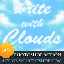 Cloud Photoshop Clouds Photoshop Free Action Special Effects And Textures