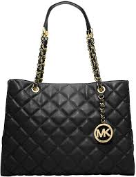 MICHAEL Michael Kors Michl Michl Kors Susannah Quilted Leather ... & ... Black Quilted Leather Tote Bags MICHAEL Michael Kors Michl Michl Kors  Susannah Quilted Leather Tote Bag ... Adamdwight.com