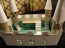 Castle Designs For School Projects Medieval Castle School Homework Made Of Toilet Rolls Shoe