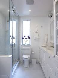 Narrow Bathroom Design