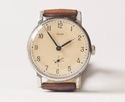 17 best images about watches men s leather vintage soviet wristwatch zim vintage men s watch brown leather watch