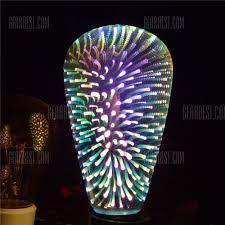 creative led lighting. GodRays ST64YH 3D Fireworks LED Lights Bulb Creative Colorful Lamp Led Lighting V