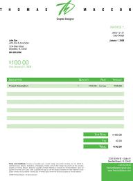 design invoice template free tmax big bjlian invoices artist business graphic