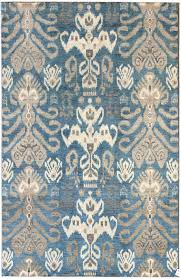 suzani and ikat designs gallery ikat design rug hand knotted in stan
