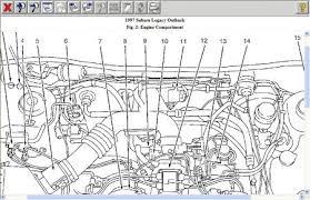1997 subaru outback anti knock sensor engine performance problem the knock sensor is located on item no 13 see below