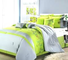 green and white duvet cover