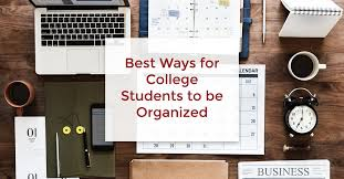 Best Academic Planner For College Students Best Ways For College Students To Stay Organized Canscribe