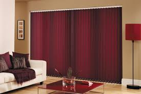 Maroon Curtains For Living Room Panel Track Blinds White Panel Track Blinds Panel Blinds Door