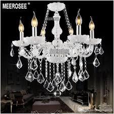 white elegant chandelier crystal light glass lobby crystal chandelier ers pendelleuchte with 8 lampholders md801 green chandelier multi coloured