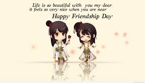 Thanks For Being My Friend Happy Friendship Day Best Wishes Quotes