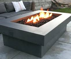 concrete fire table outdoor gas fireplace lp tabletop how to build pit on deck outdoor gas fireplace