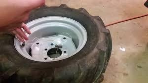 Liquid Ballast Filling Tractor Tires Cheep Easy