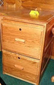 2 Drawer Oak File Cabinets Vintage 2 Drawer Wood File Cabinet