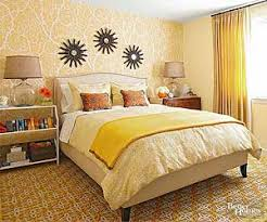 Yellow Bedroom Makeover