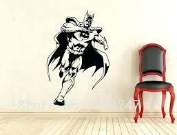 superhero wall decals and comics art batman wall decal superhero wall sticker home decoration any room avengers wall decals