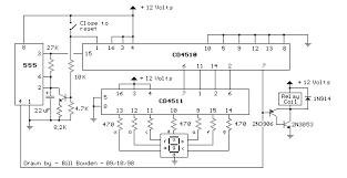 0 59 counter circuit diagram the wiring diagram meter counter > counters > digital countdown schematic 555 wiring diagram