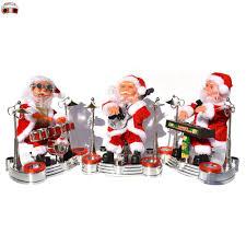 Búp Bê Nhồi Bông Hình Ông Già Noel Điện Tử Trang Trí Giáng Sinh