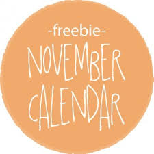 november calendar header november 2014 calendar free printable live craft eat