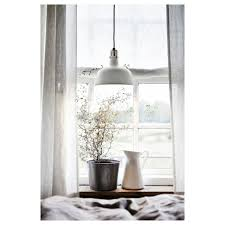 ikea ranarp steel pendant lamp off