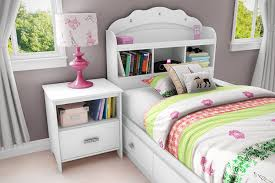 girl bedroom furniture. Amazon.com - Tiara Collection Twin Bookcase Headboard Pure White Bedroom Furniture By South Shore Girls Bed Girl T