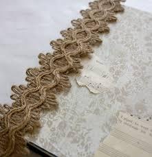 Burlap Decor Easy Diy Burlap And Lace Wedding Decor