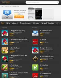 Then on the top left of the app, tap the 3 lines. Amazon Appstore Wikipedia