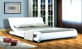 white leather bed frame queen design queen king size black white white leather queen bed ireland