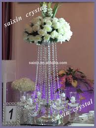hanging crystals for wedding centerpieces. crystal candelabra wedding centerpiece and flower stand hanging crystals for centerpieces c