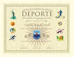 Diplomas Deportivos Modelos De Diplomas Diplomas De