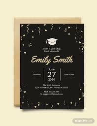 Free Graduation Invitation Template Download 518 Invitations In