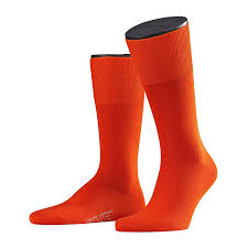 Falke Socks Size Chart Orange Airport Wool Cotton Socks