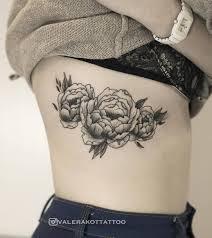 Valera Kot Tattoer Peonies пионы Tattoo Tattooflash Peony